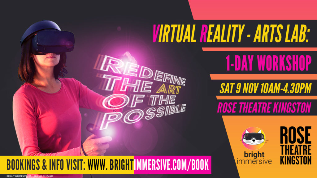 Virtual Reality (VR) - Arts Lab: 1-Day Workshop